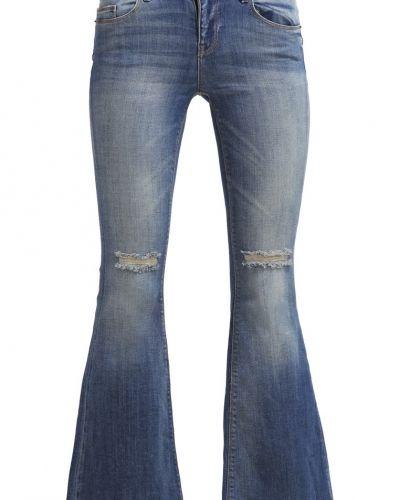 Bootcut jeans ONLY ONLRIO Flared jeans medium blue denim från ONLY