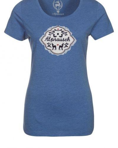 Alprausch PAULA SPITZTIERLI Tshirt med tryck Blått - Alprausch - Kortärmade träningströjor