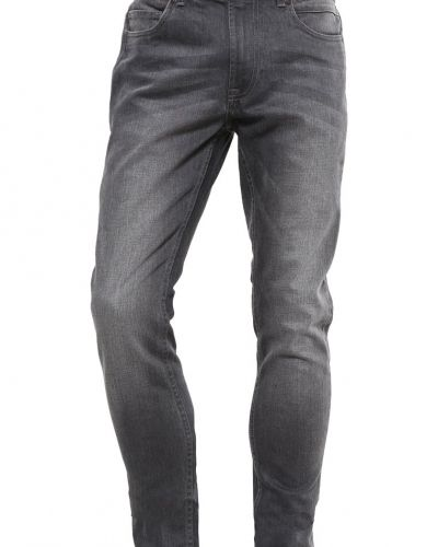 Pktakm jeans straight leg grey denim Produkt straight leg jeans till dam.