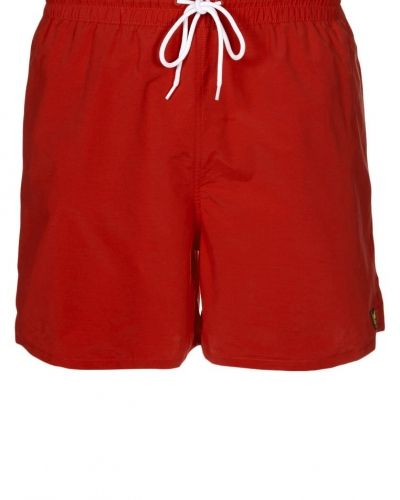Lyle & Scott PLAIN Surfshorts Rött - Lyle & Scott - Badshorts