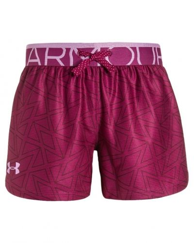 Play up träningsshorts black cherry / verve violet Under Armour shorts till dam.