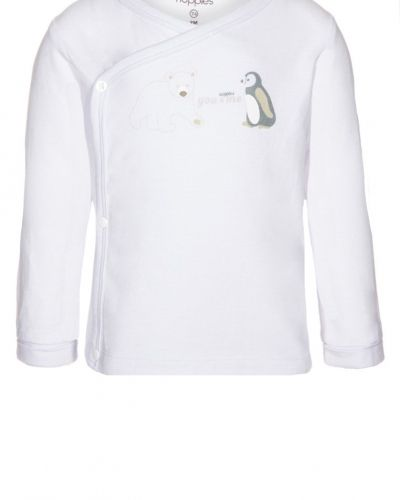 Vit långärmad tröja från Noppies till barn.