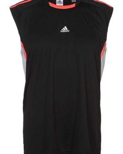 adidas Performance REFRESH Funktionströja Svart från adidas Performance, Kortärmade träningströjor