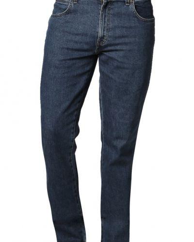 Regular fit jeans straight leg stonewash Wrangler regular jeans till mamma.