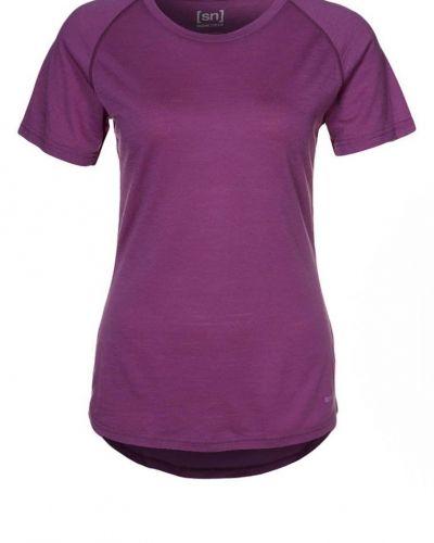 super.natural RELAX Tshirt bas Lila - super.natural - Kortärmade träningströjor
