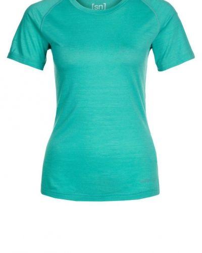 super.natural RELAX Tshirt bas Petrol - super.natural - Kortärmade träningströjor