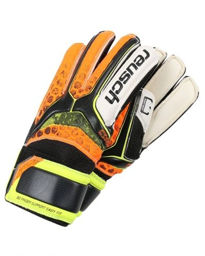 Reusch Reusch RE:PULSE Målvaktshandskar black/shock orange
