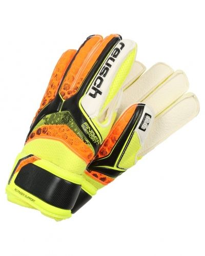 Målvaktshandske Reusch RE:PULSE Målvaktshandskar black/shocking orange från Reusch