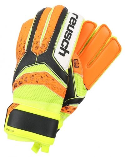 Reusch Reusch RE:PULSE SG EXTRA Målvaktshandskar black/shocking orange