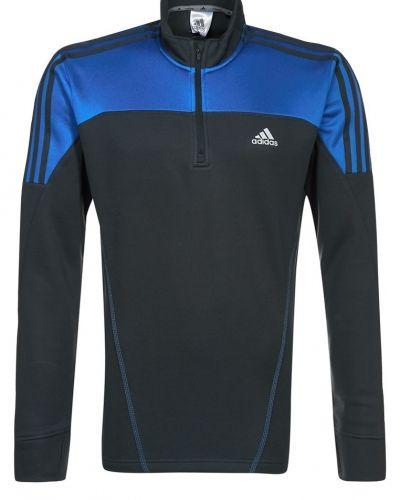 adidas Performance RESPONSE FLEECE Tshirt långärmad Blått från adidas Performance, Långärmade Träningströjor