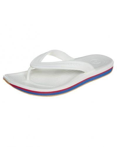 Crocs RETRO Badsandaler Vitt från Crocs, Träningsskor flip-flops