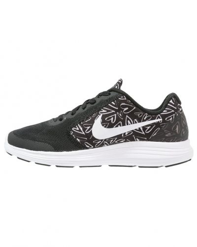 Nike Performance Revolution 3 neutrala löparskor black/white/lava glow
