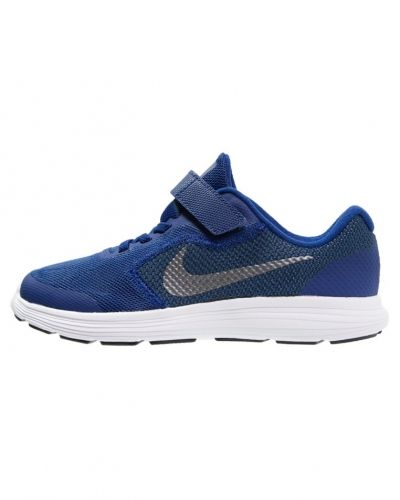 Löparsko Revolution 3 neutrala löparskor deep royal blue/metallic cool grey/black/white från Nike Performance