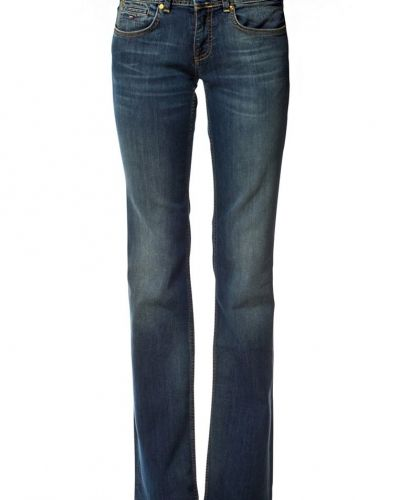 Till tjejer från Hilfiger Denim, en blå bootcut jeans.