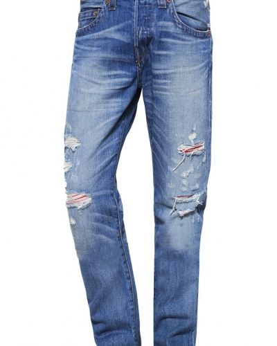 Rocco jeans relaxed fit blue denim True Religion jeans till dam.