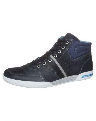 Till herr från Björn Borg, en blå höga sneakers.