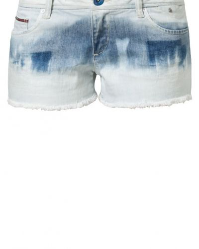 Blå jeansshorts från Hilfiger Denim till dam.