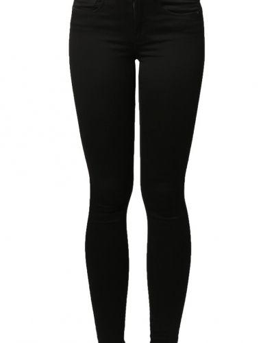 Svart slim fit jeans från ONLY till dam.