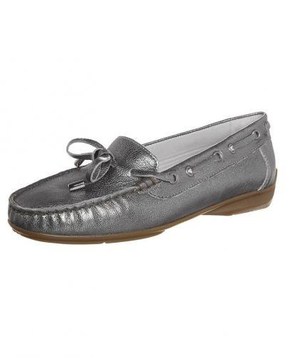 Silver loafers från ara till dam.