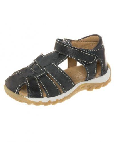 Blå sandal från Bisgaard till barn.