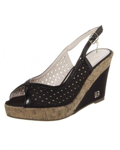 Sandaletter med kilklack från Laura Biagiotti till dam.