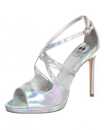 bdb472313aa Even&Odd Sandaletter Silver Even&Odd högklackade sandal till dam.