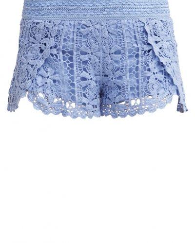Topshop SCALLOP Shorts blue från Topshop