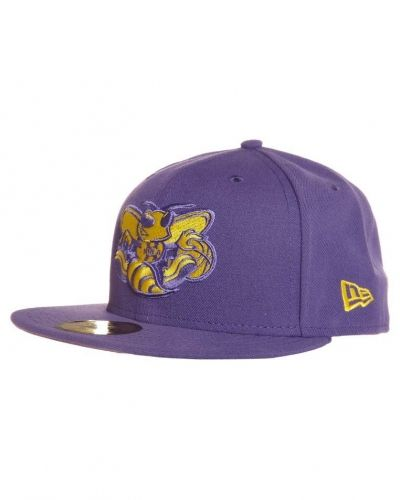 New Era SEASONALS CONTRAST NEW ORLEANS HORNETS Keps Lila från New Era, Kepsar