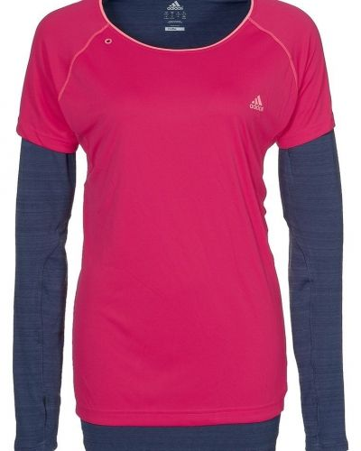 Seq 2in1 tshirt från adidas Performance, Långärmade Träningströjor