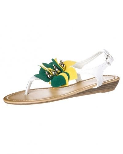 Cassis côte d'azur SHANNA Sandaler & sandaletter Vitt från Cassis côte d'azur, Träningsskor flip-flops