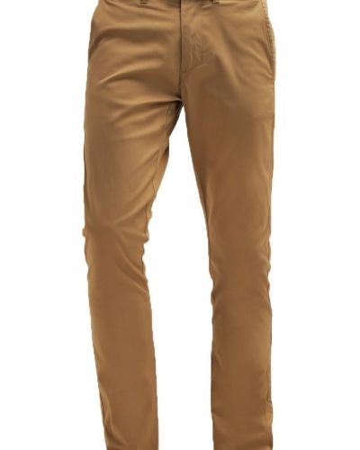 Shhyard chinos dark camel Selected Homme chinos till dam.