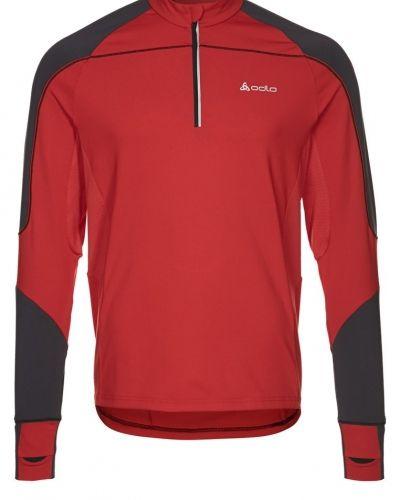 ODLO SHULUG Tshirt långärmad Rött från ODLO, Långärmade Träningströjor