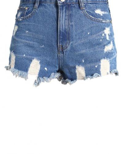 Missguided Missguided SINNER Jeansshorts vintage blue