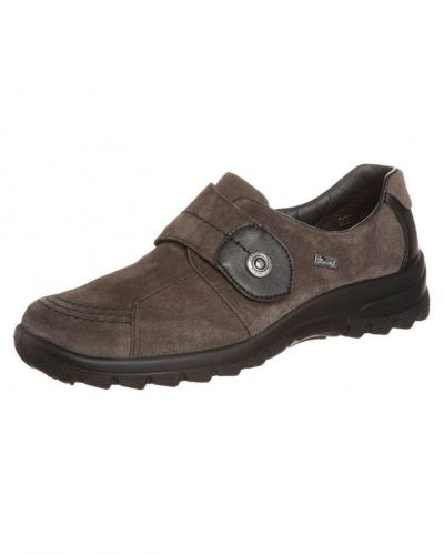 Brun loafers från Rieker till dam.