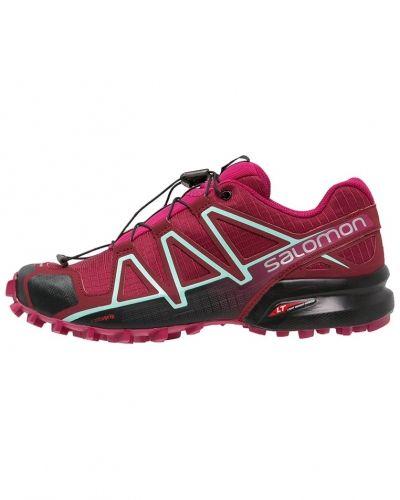 Speedcross 4 löparskor terräng tibetan red/sangria/black Salomon löparsko till mamma.
