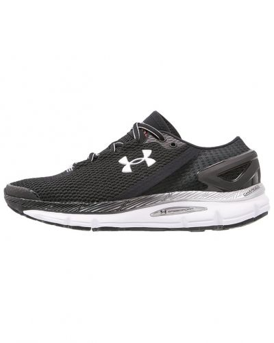 Speedform gemini 2.1 neutrala löparskor black/white Under Armour löparsko till mamma.