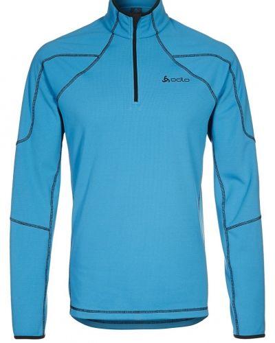 ODLO STANDUP COLLAR Sweatshirt Blått från ODLO, Långärmade Träningströjor