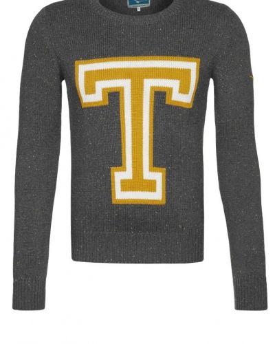 TWINTIP Stickad tröja Grått från TWINTIP, Långärmade Träningströjor