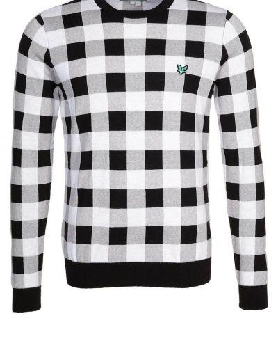 Lyle & Scott Stickad tröja Grått - Lyle & Scott - Träningsöverdelar