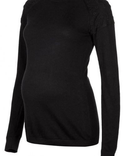 Till dam från JoJo Maman Bébé, en svart stickade tröja.