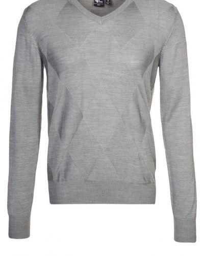 Cross Stickad tröja Grått - Cross - Långärmade Träningströjor