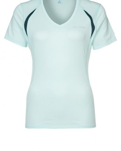ODLO STRIPE Funktionströja Blått från ODLO, Kortärmade träningströjor