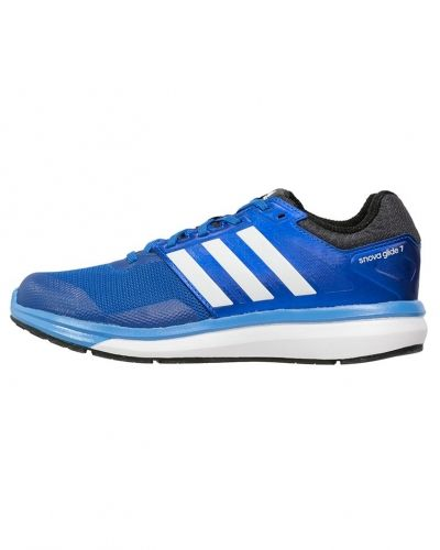Supernova glide 7 löparskor dämpning bright royal/white/lucky blue adidas Performance löparsko till mamma.