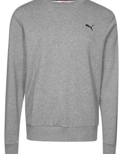 Puma Sweatshirt Grått från Puma, Långärmade Träningströjor