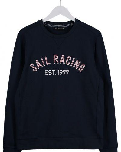 Till killar från Sail Racing, en blå sweatshirts.
