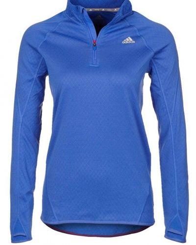 adidas Performance adidas Performance Sweatshirt Blått. Traningstrojor håller hög kvalitet.