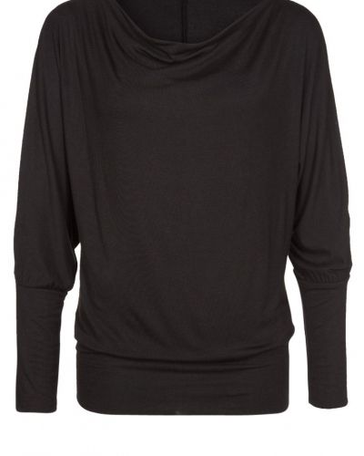Långärmad tröja Opus SYLVETTA Stickad tröja black från Opus