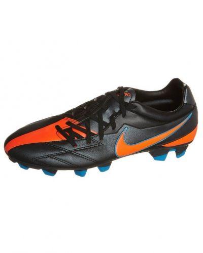 Nike Performance T90 STRIKE IV FG Fotbollsskor fasta dobbar Svart - Nike Performance - Fasta Dobbar