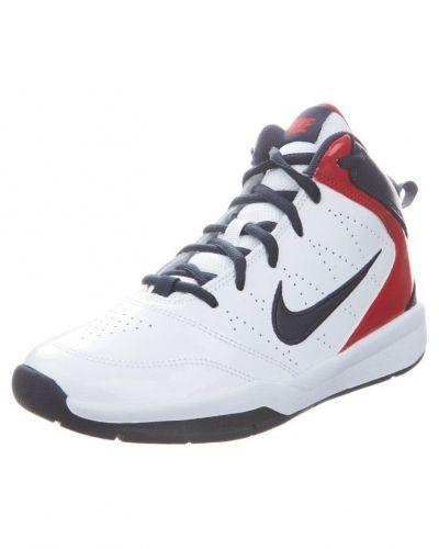 Nike Performance TEAM HUSTLE D 5 Indoorskor Vitt - Nike Performance - Inomhusskor