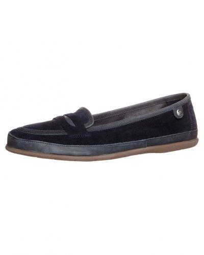 Blå loafers från Panama Jack till dam.